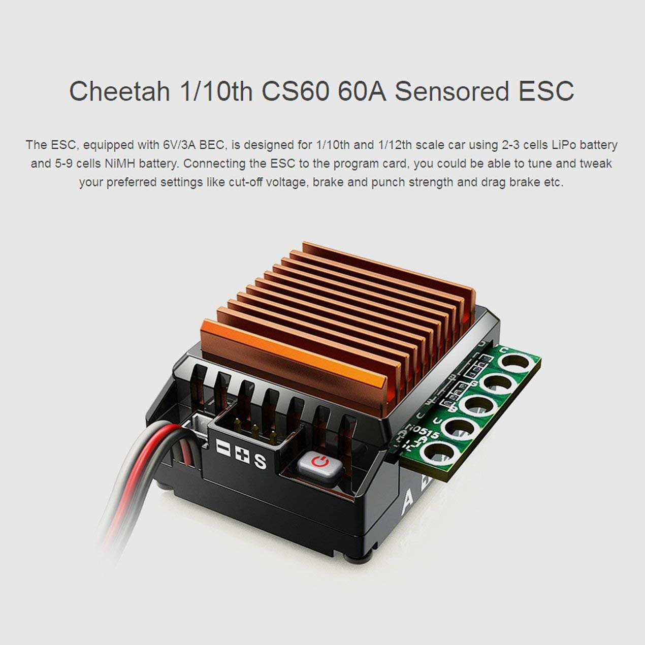 Rc Brushless Motor Esc 2p Sensorless Combo Set Electric Circuit Design Mcqs With Led Programming Card For All 1 8 Cars Sports Outdoors