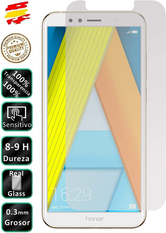Movilrey Protector para Huawei Honor 7A Cristal Templado de ...
