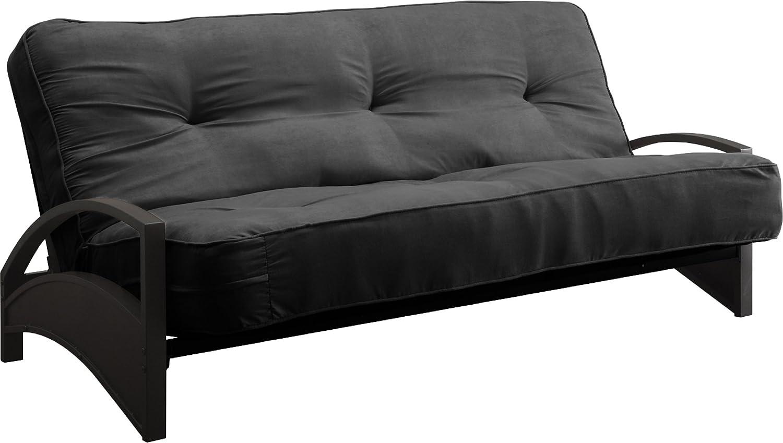 amazon    dhp 8 inch independently encased coil premium futon mattress full size black  kitchen  u0026 dining amazon    dhp 8 inch independently encased coil premium futon      rh   amazon