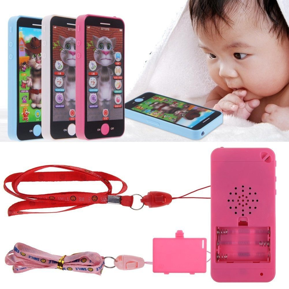 Simulator Music Phone Touch Screen Children Educational Learning Toys
