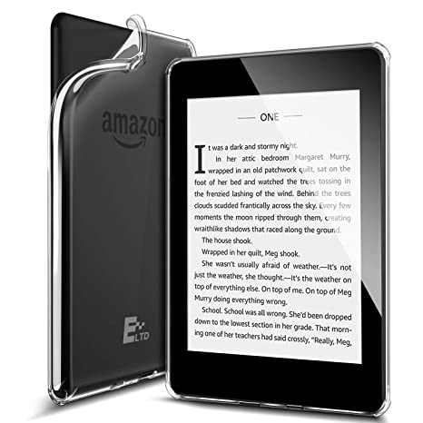 ELTD Funda Carcasa para Nuevo Kindle Paperwhite 2018, Ultra Delgado Silm Smart Fundas Duras Cover para Amazon Kindle Paperwhite (10th Generation, 2018 ...