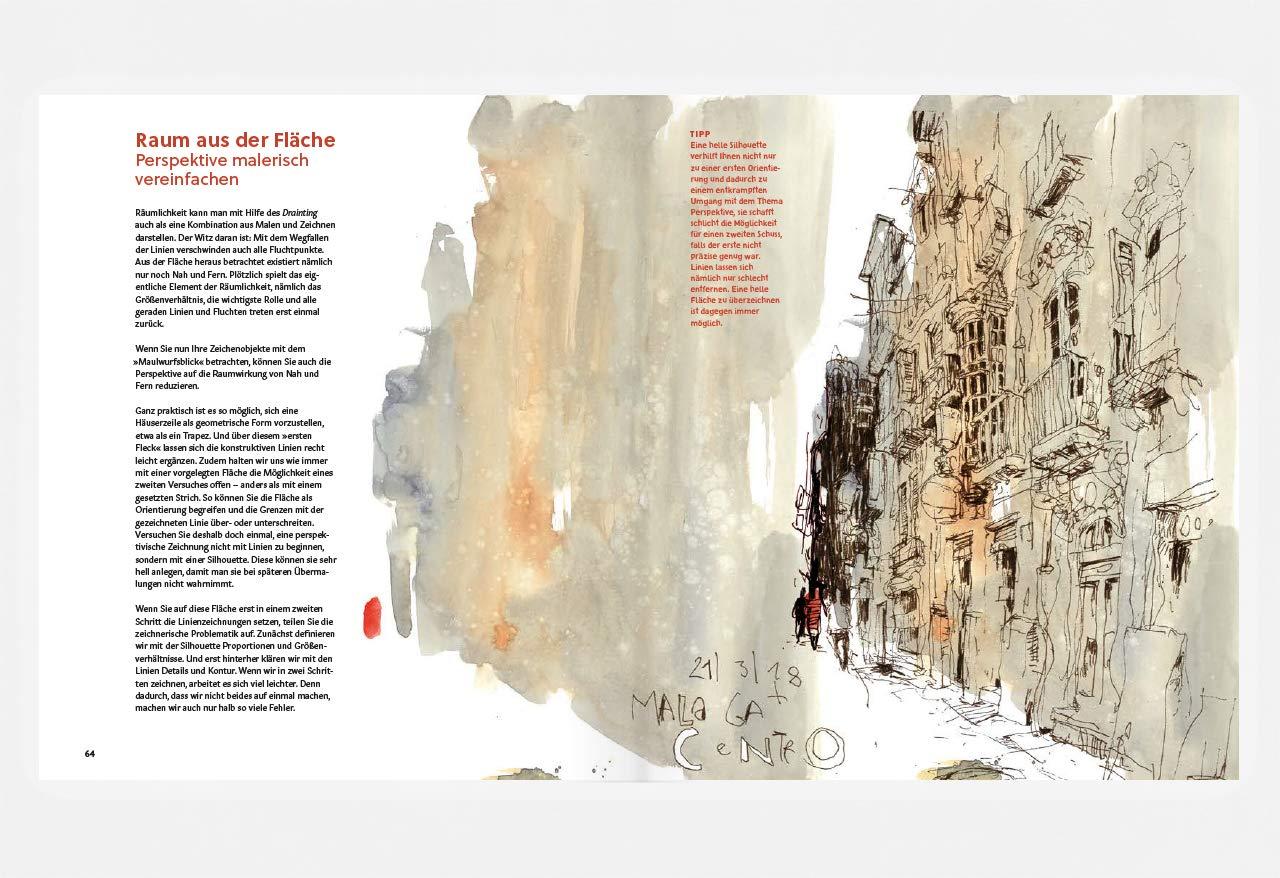 Drainting: Die Kunst, Malen Und Zeichnen Zu Verbinden: Amazon.co.uk: Felix  Scheinberger: 9783874398978: Books