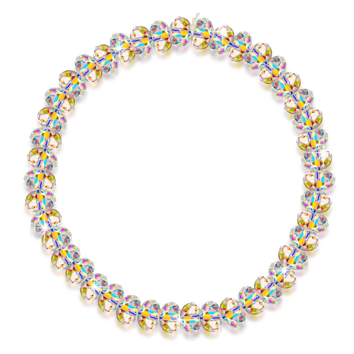 LADY COLOUR Birthday Gifts for Girlfriend Bracelets Swarovski Crystal Jewelry for Women The Best of Youth Stretch Bracelet Anniverysary Gifts for Wife Back to School Gifts for Daughter Granddaughter