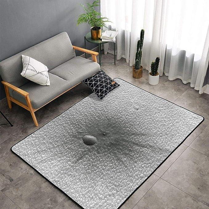 Liu & Bag A Tale of Two Craters - Alfombra de Felpa (100 x ...
