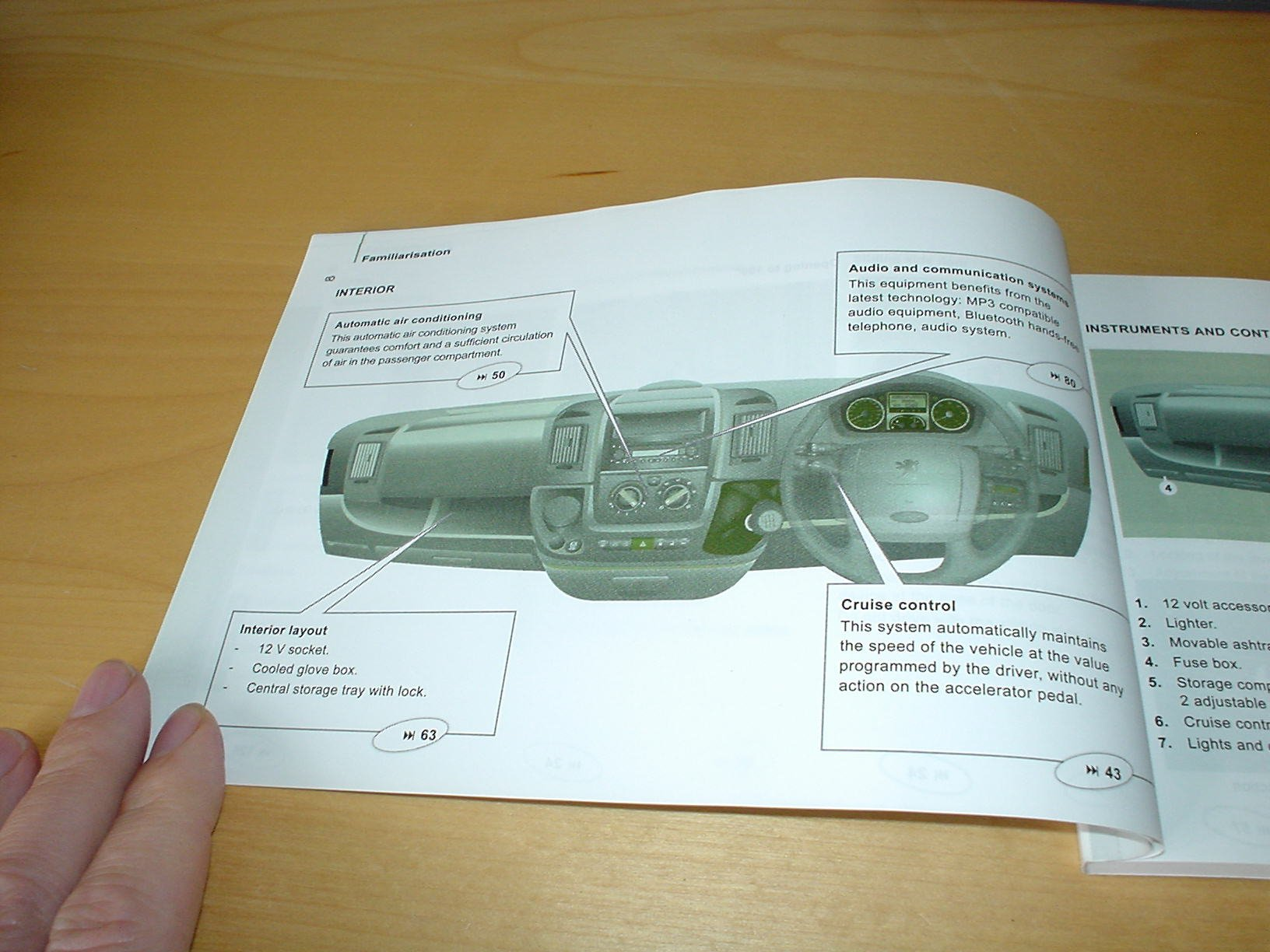 Peugeot Boxer Fuse Box Owners Manual Detailed Schematics Diagram 206 Van Handbook C W Wallet 2006 2011 2 3 0
