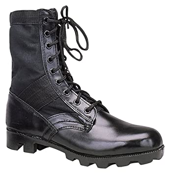 Amazon.com: Rothco 8'' GI Type Jungle Boot: Sports & Outdoors