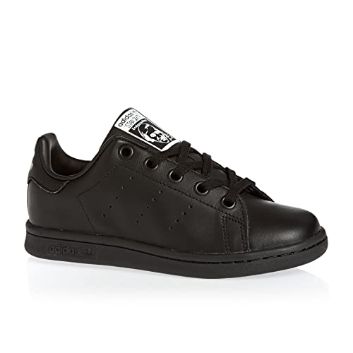 adidas Stan Smith C, Chaussures de Gymnastique Mixte Enfant, Noir (Core  Black/