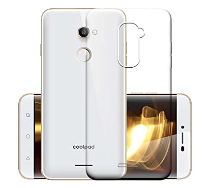 wholesale dealer a74ee 25c7f ECellStreet Transparent Soft Back Cover for Coolpad Note 3S
