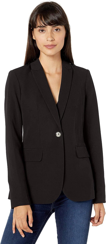 Tommy Mail order cheap Hilfiger Women's One Button Blazer Max 87% OFF