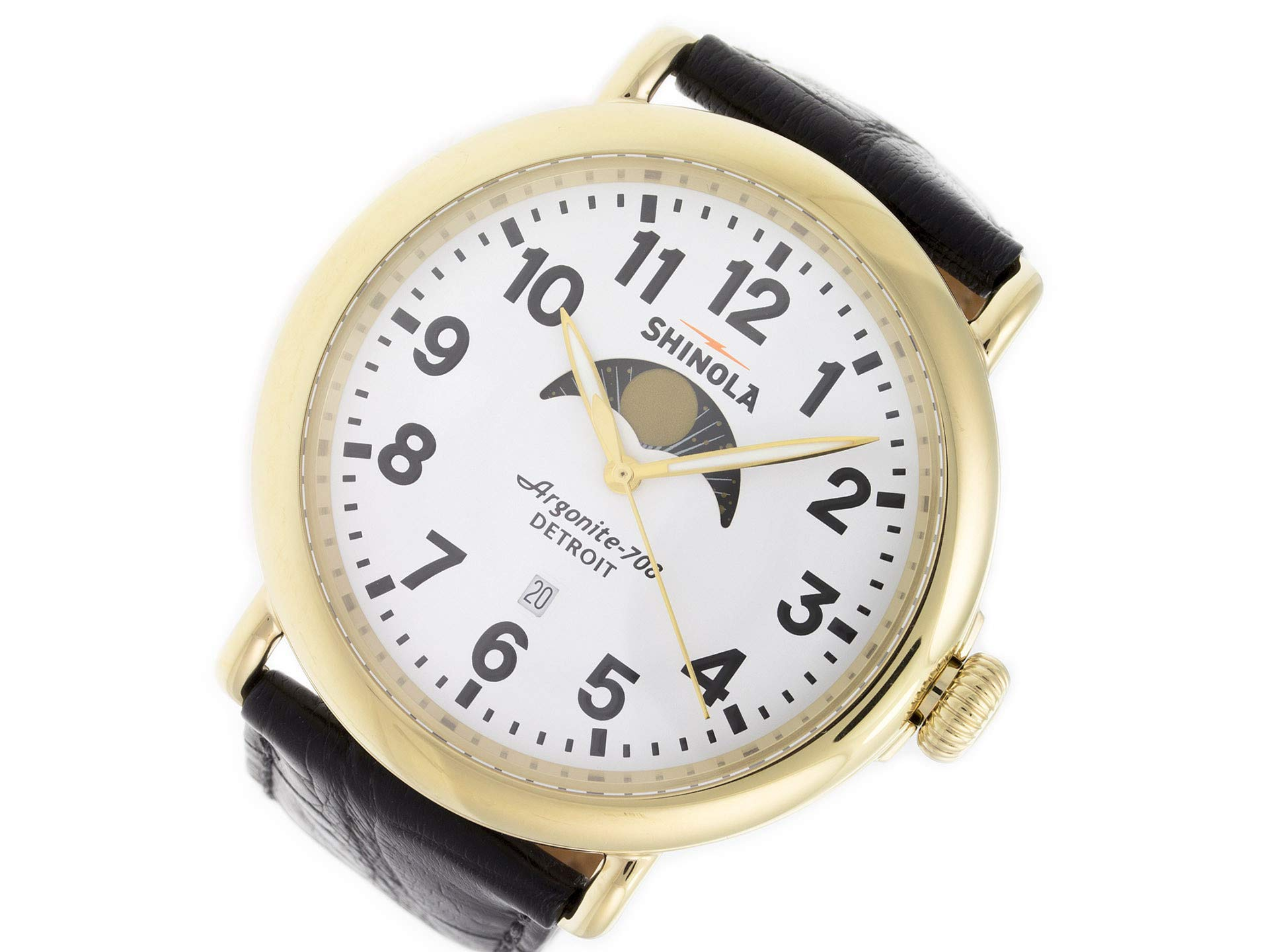 Shinola The Runwell Quartz Male Watch 10000180 (Certified Pre-Owned)