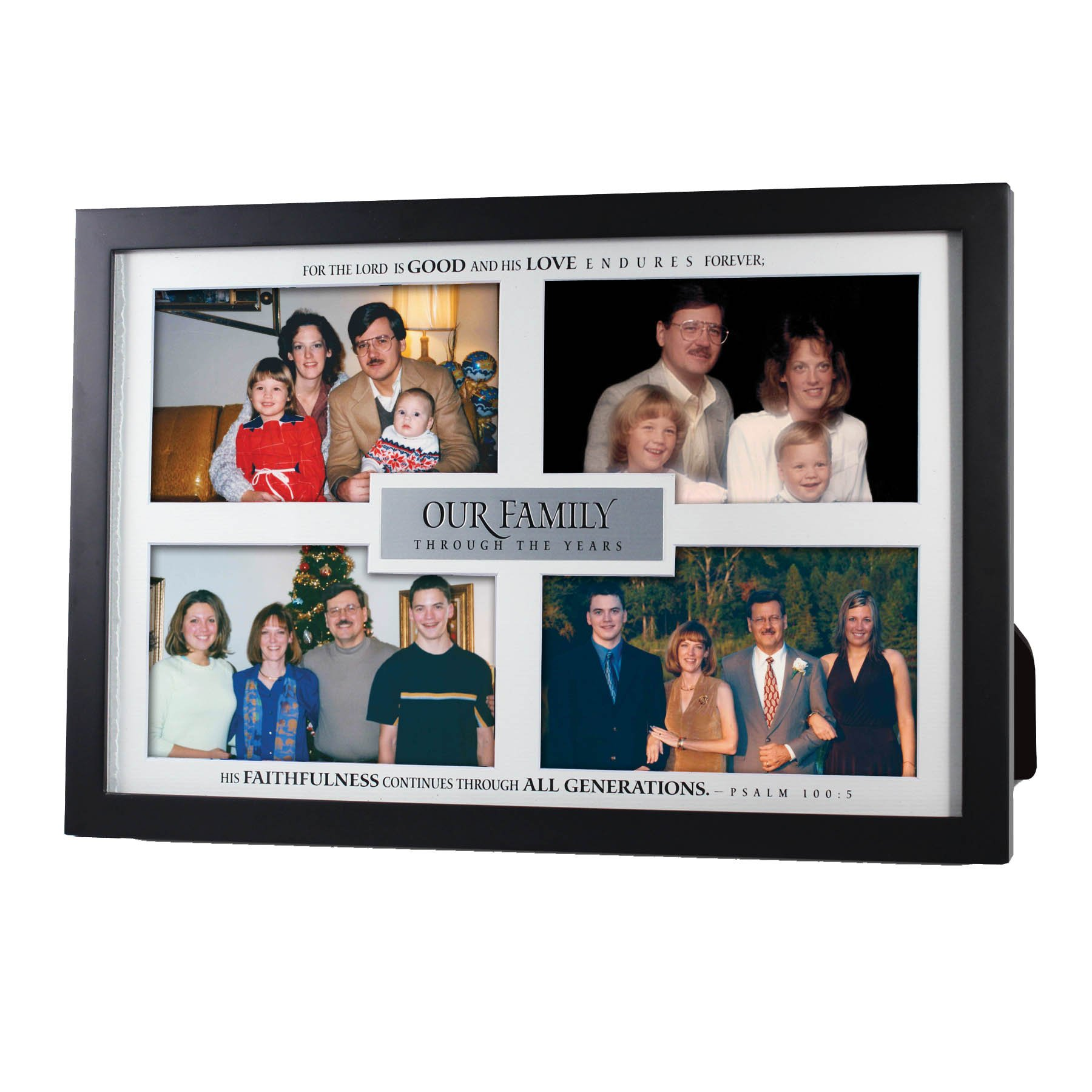 Lighthouse Christian Products Our Family Through The Years Frame Collage, 12 3/4 x 8 5/8''