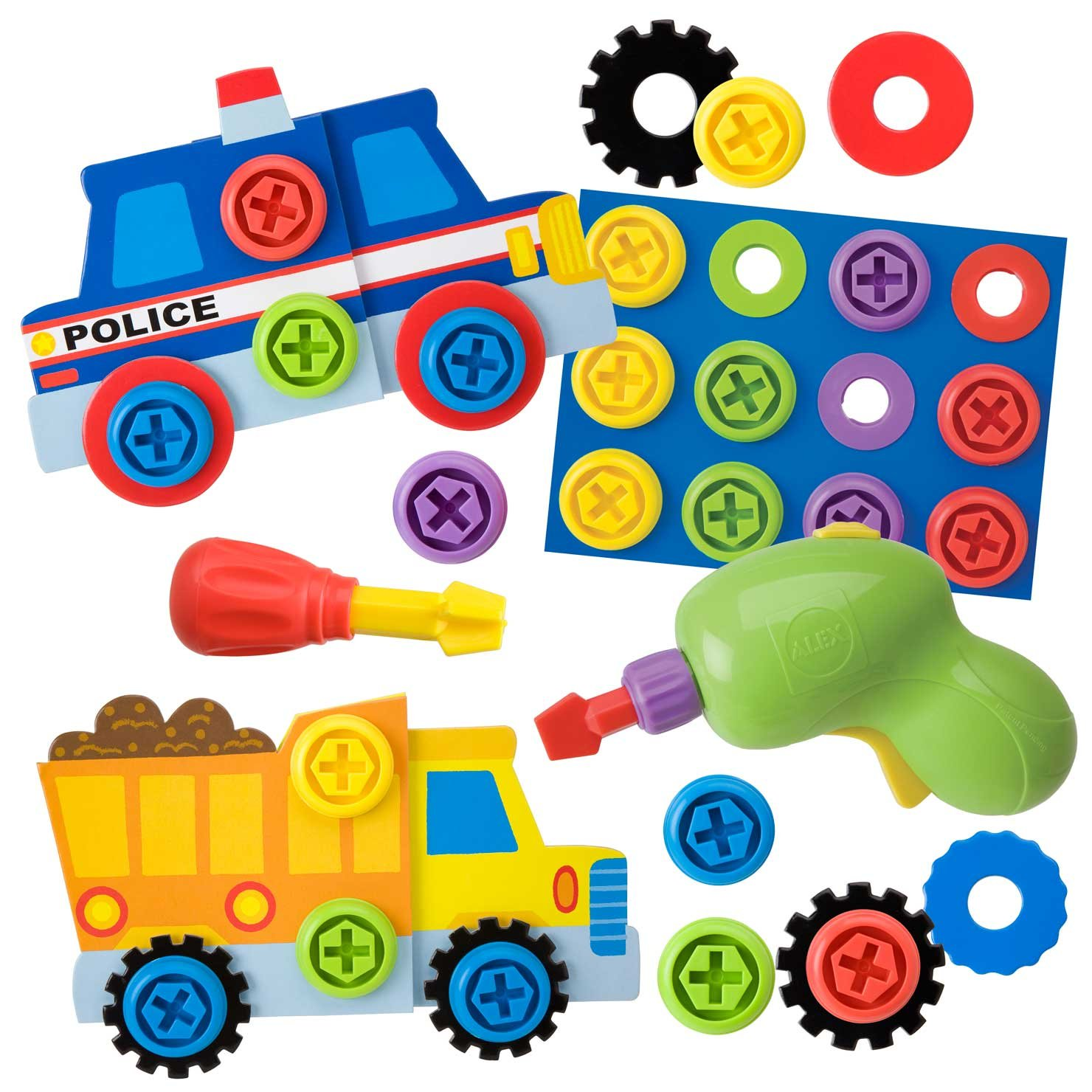 Amazon ALEX Toys Little Hands Twist and Drill Toys & Games