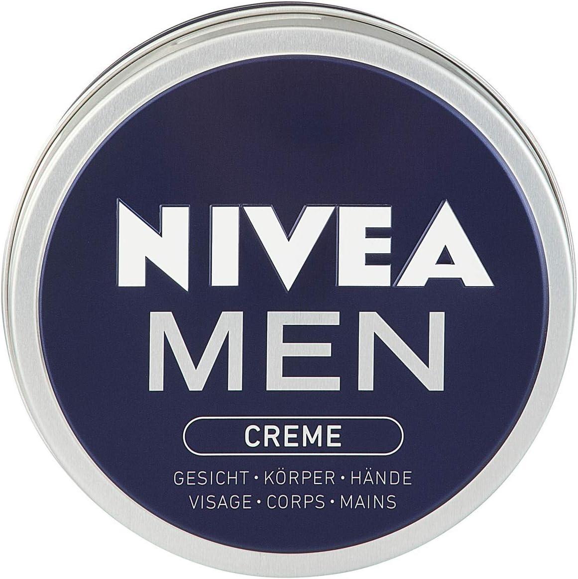 Nivea Men taza de crema de 150 ml - Version importada, Alemania