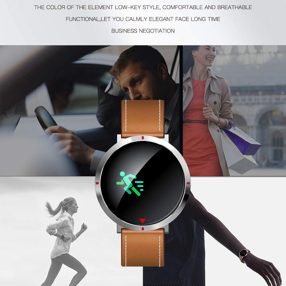Smart Watch, Health & Fitness Tracker Smartwatch Monitor de Ritmo ...