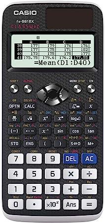 Casio FX-991EX Engineering/Scientific Calculator, Black, 3