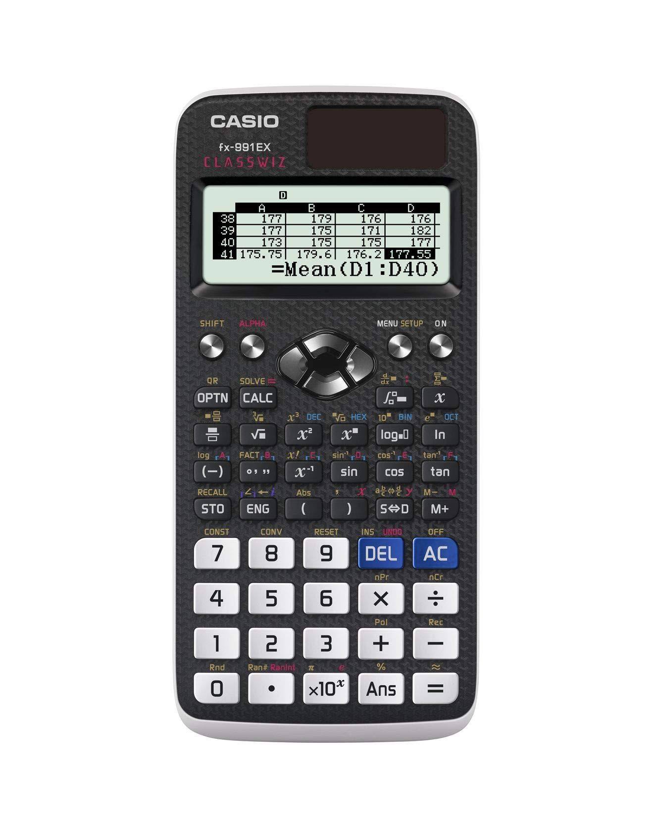 Casio FX-991EX Engineering/Scientific Calculator, Black by Casio