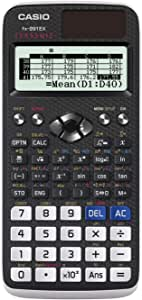 "Casio FX-991EX Engineering/Scientific Calculator, Black, 3"" x 6.5"" x 0.4"""