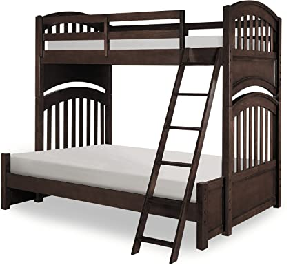 Amazon Com Legacy Classic Kids Academy Twin Over Twin Bunk Bed In