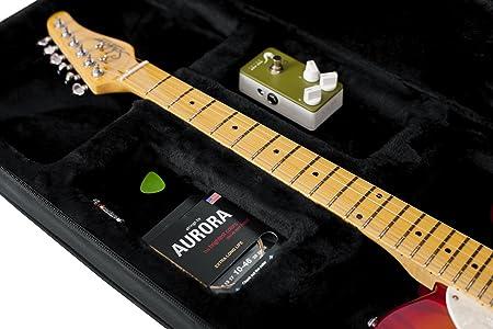 GATOR GL-ELECTRIC - Estuche para guitarra eléctrica, color negro: Amazon.es: Instrumentos musicales