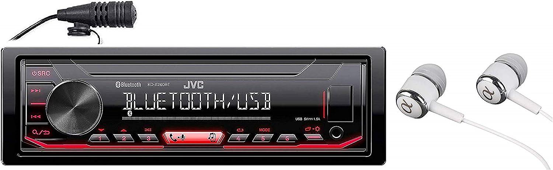 JVC KD-X260BT Car Stereo Receiver