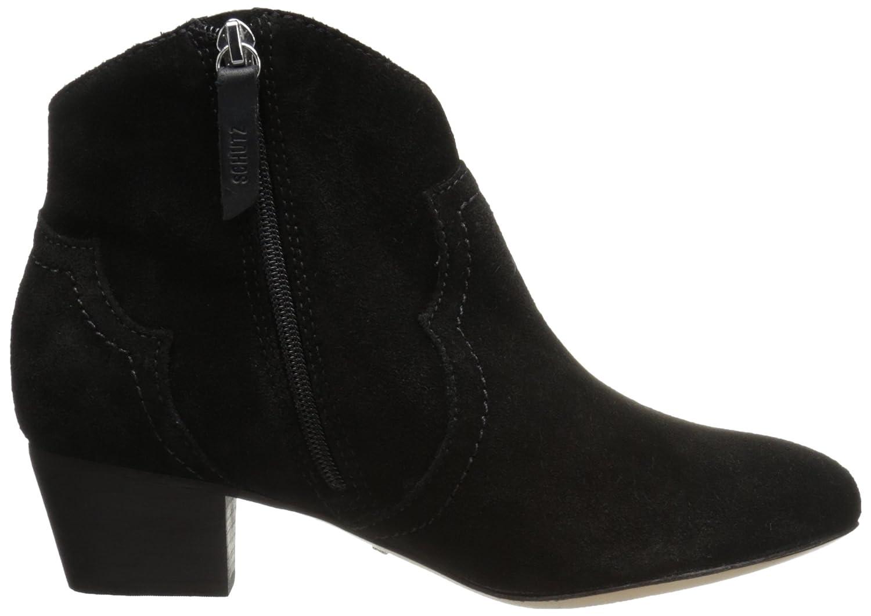 SCHUTZ Women's Abiha Ankle Bootie B01GJWVFY2 5.5 B(M) US|Black