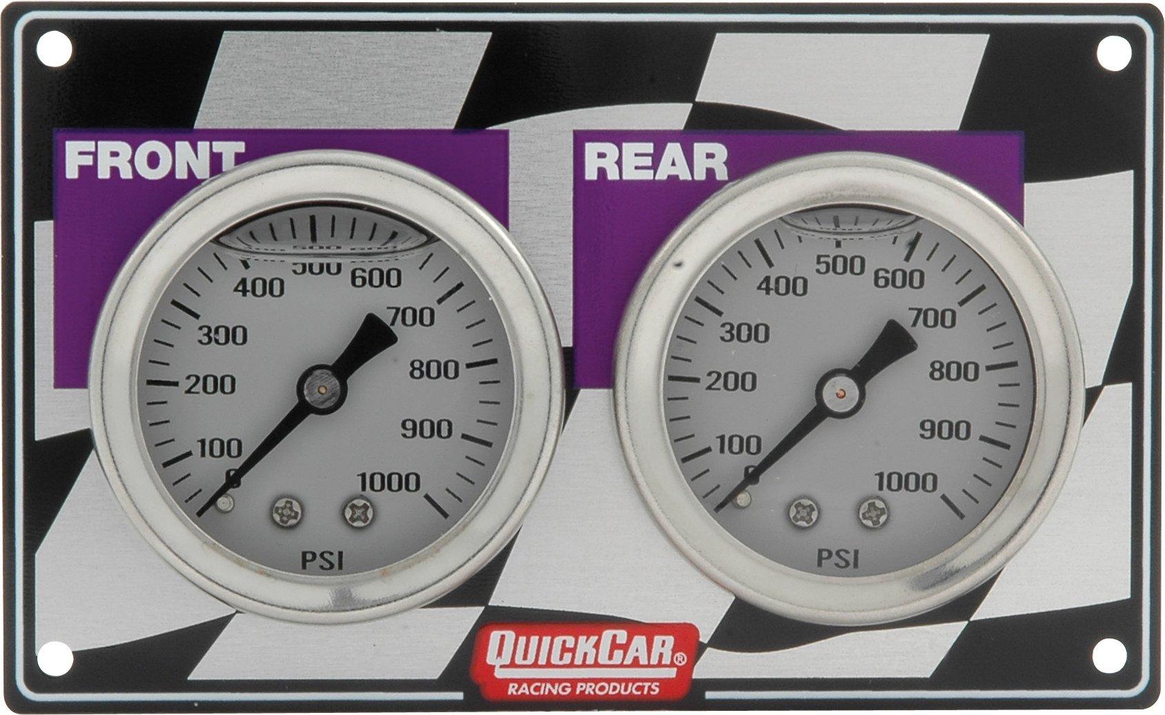 QuickCar Racing Products 61-103 Mini Brake Bias Gauge Panel