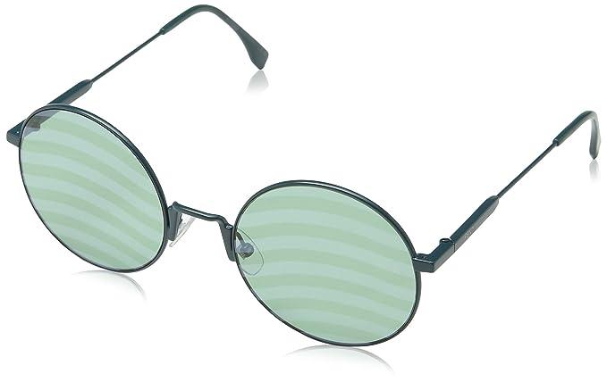 Fendi Damen Sonnenbrille FF 0248/S XR 1ED, Grün (Green/Green Dc), 53