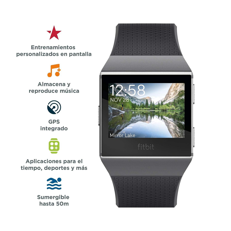 Fitbit Ionic Smartwatch deportivo con GPS, música y sensor HR