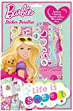 Alligator Books - Juego de pegatinas Barbie (Downtown ALLI1472BASP)