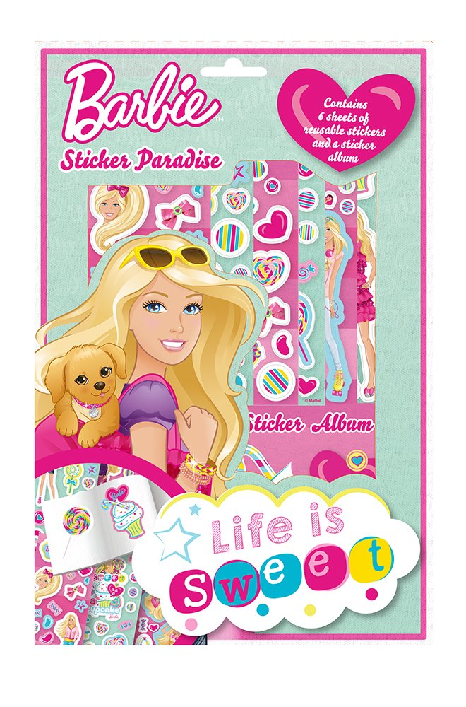Alligator Books Barbie Sticker Paradise Amazoncouk Toys Games