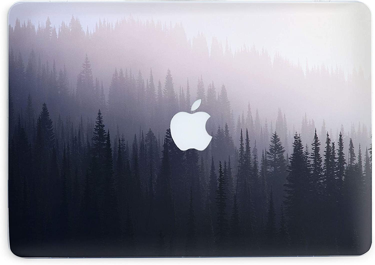 Foggy Forest Laptop Case Air 11 A1370 1465 Cool Cover Plastic Cases with Print Nature
