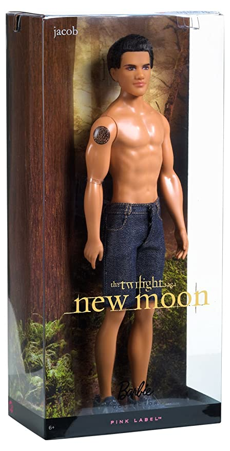 Barbie PINK LABEL Collector EDWARD /& JACOB ~ 2 DOLL Set Twilight Saga New Moon
