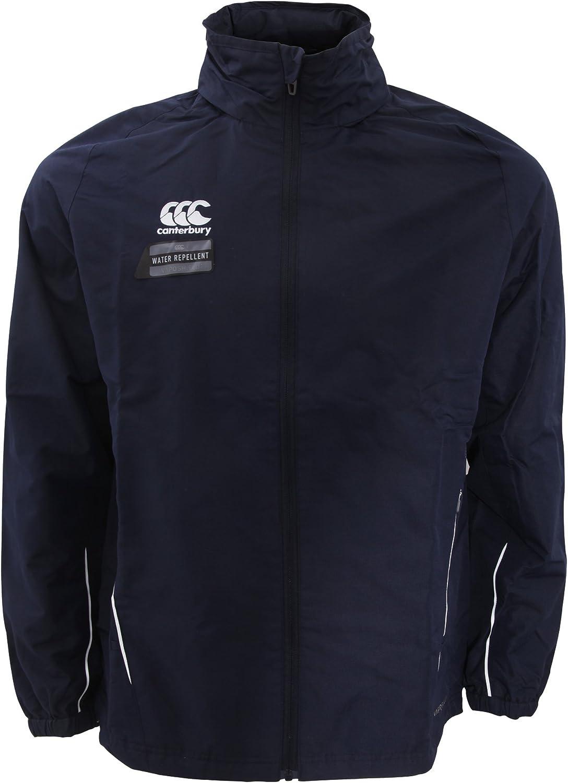 Canterbury Mens Team Rain Jacket Waterproof Rugby Football Sports Running Coat