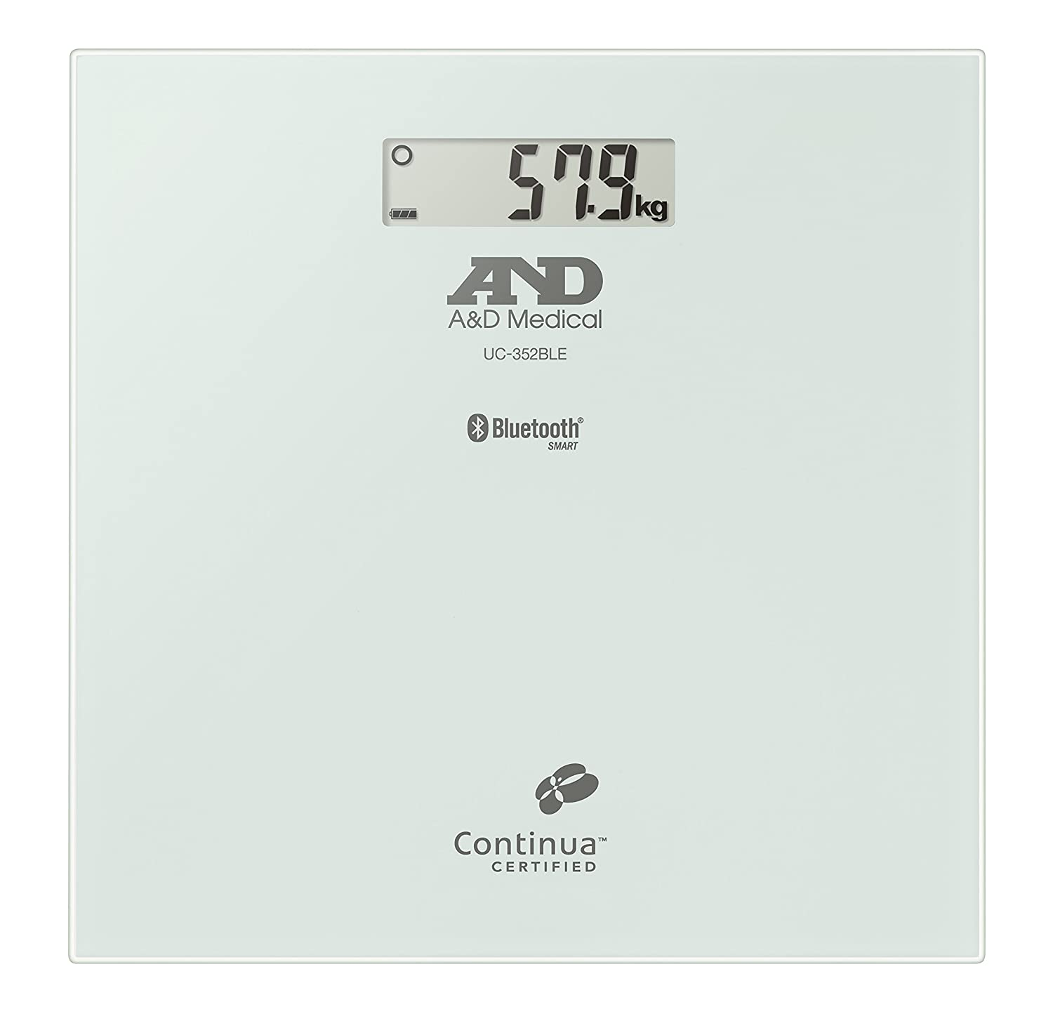 A&D Medical UC-352 Connected High Precision Digital Personal Scale UC-352BLE