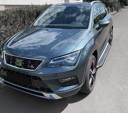 Trittbretter Passend Für Seat Ateca Ab Baujahr 2016 Model Hitit In Schwarz Mit TÜv Und Abe Auto