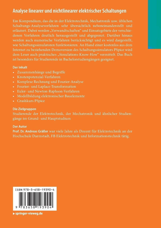 Analyse linearer und nichtlinearer elektrischer Schaltungen: Ein ...
