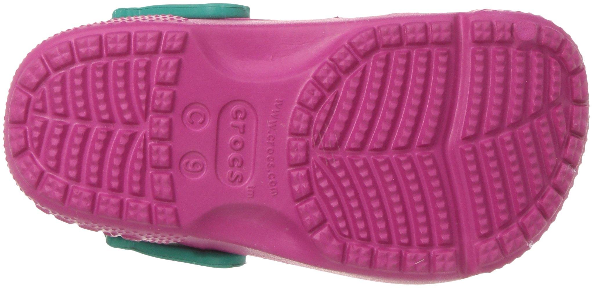 Crocs Girls' Fun Lab Frozen Clog K, Candy Pink, 10 M US Little Kid by Crocs (Image #3)