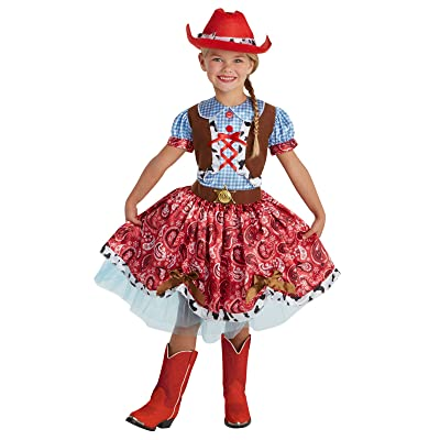 Buckaroo Beauty Child Costume: Clothing