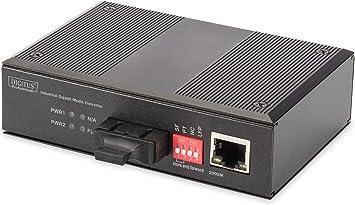 Digitus Din Rail Medienkonverter Multimode Gbit Computer Zubehör