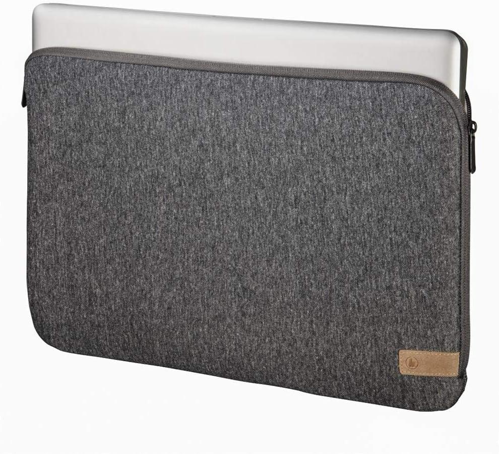 Notebook-H/ülle Grau Notebook-H/ülle, 29,5 cm Notebooktaschen 11.6 Zoll , 191 g, Grau Hama Jersey Notebooktasche 29,5 cm 11.6 Zoll
