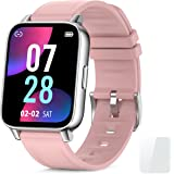 """Smart Watch, Fitness Tracker with Heart Rate Monitor, Activity Tracker with 1.69"""" Full Touch Screen, Waterproof Pedometer Sma"""