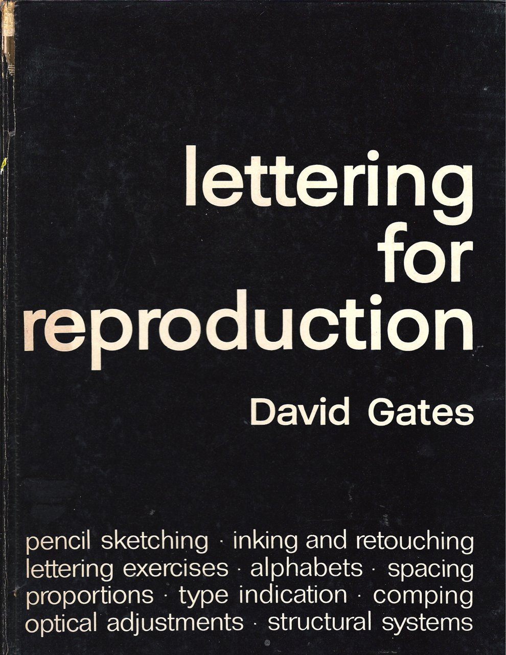 Lettering for Reproduction