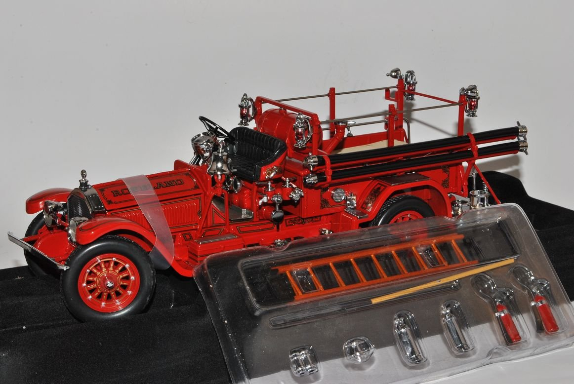 American Lafrance Type 75 1927 Rot Feuerwehr Signature 1 24 Yatming Modell Auto