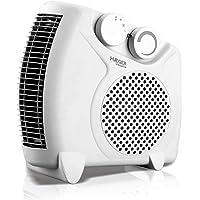 HAEGER VERSATILE - Calefactor 2000W, Blanco. Posición Horizontal