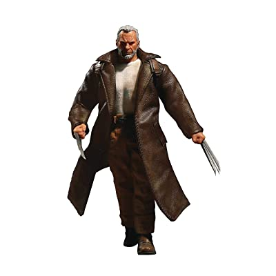 Mezco Old Man Logan 1:12 Collective Marvel Action Figure: Toys & Games