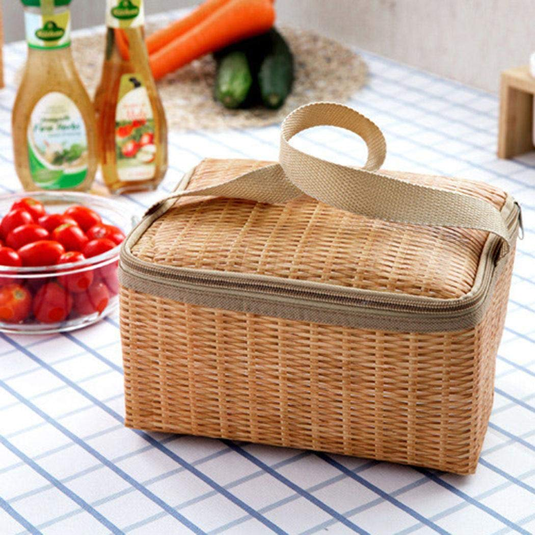 Banlany Insulated Thermal Cooler Lunch Bag Handbag Outdoor Picnic Travel Storage Box