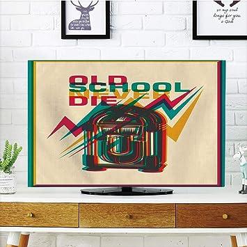 CANCA - Funda para televisor LCD, multiestilo, Estilo Retro ...