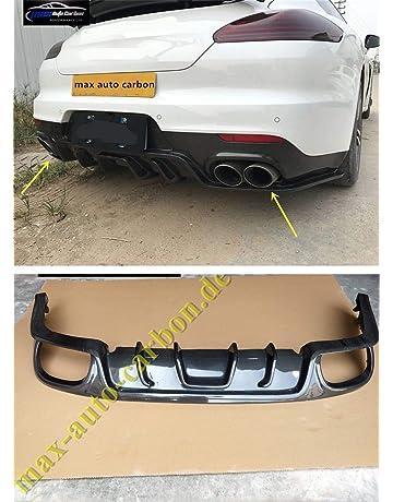 Difusor trasero de carbono auténtico apto para Panamera S GTS Turbo S 970.1