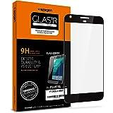 "Google Pixel XL [Premium] 5.5"" Screen Protector, Spigen® Full Screen Cover Tempered Glass [Easy-Install kit] **Black** Anti-Scratch Ultra Clear Google Pixel XL Glass Screen Protector (F15GL21067)"