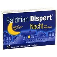 Baldrian-Dispert Nacht zum Einschlafen 50 stk